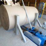 Різка рулону паперу - сучасне рішення з гідравлічною подачею ріжучої системи